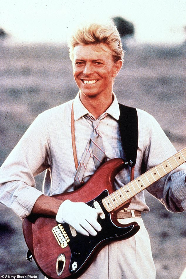 'A big favourite of ours': David Bowie's surprising obsession with 1980s Australian soap opera A Country Practice has been revealed in an interview with the late rocker's friend Iggy Pop, 73. Pictured: David Bowie in 1983
