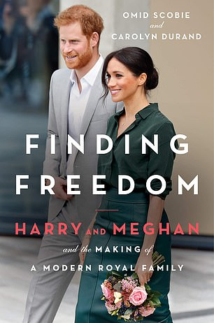 Finding Freedom: Harry, Meghan and the Making of a Modern Royal Family, written by Royal Watchers Omid Scoby and Caroline Durand, described as the Duke and Duchess of Sussex's 'Cheerleaders'