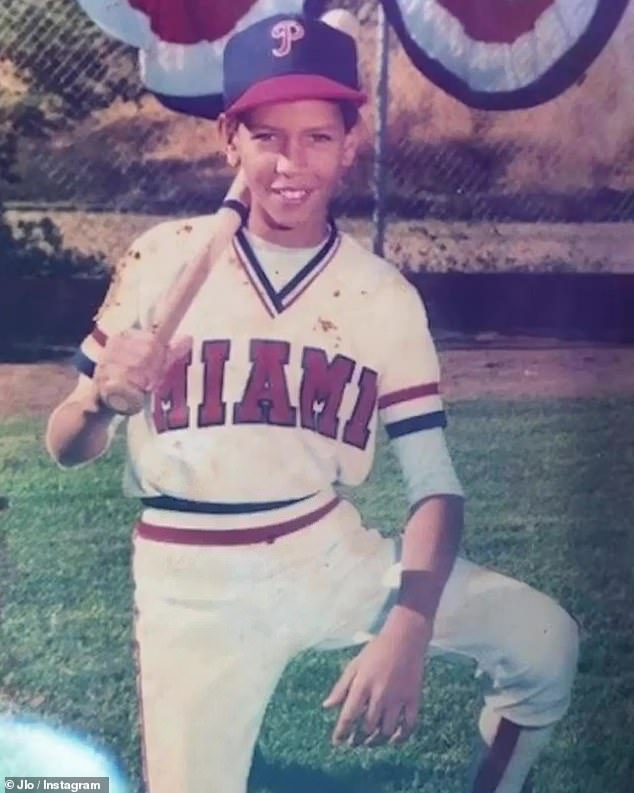 Little A-Rod: Jennifer Lopezshared some adorable throwback photos of fiancé Alex Rodriguez Sunday to Instagram, posting a sweet tribute video to Instagram for his 45th birthday