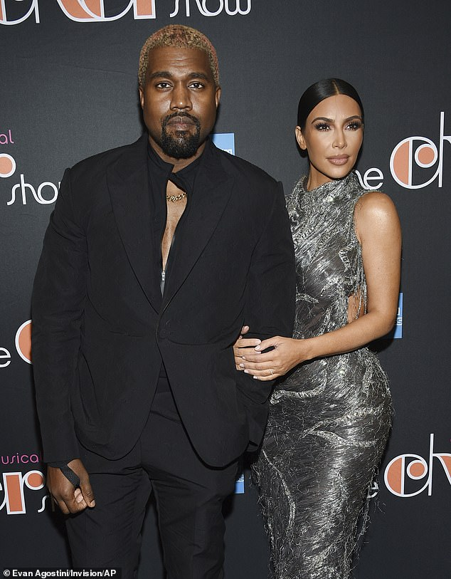 Remorse: A source told the site that Kanye 'seems much more relaxed and relaxed the past few days' but has 'regrets' that he made private family matters public last week (pictured in December 2018)