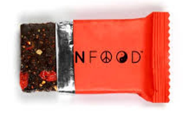 Dubbed ¿daily nutrition bars¿, Human Food goji bars contain hemp seeds, dried banana, dried dates, seeds and quinoa, plus vitamins and minerals, including all your daily vitamin B12, important for a healthy nervous system