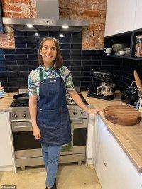 MasterChef: Laura Sharrad offers fans a look inside her VERY modern kitchen