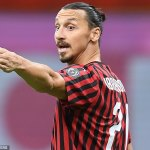Sticking around, Zlatan? Ibrahimovic models AC Milan's new home kit