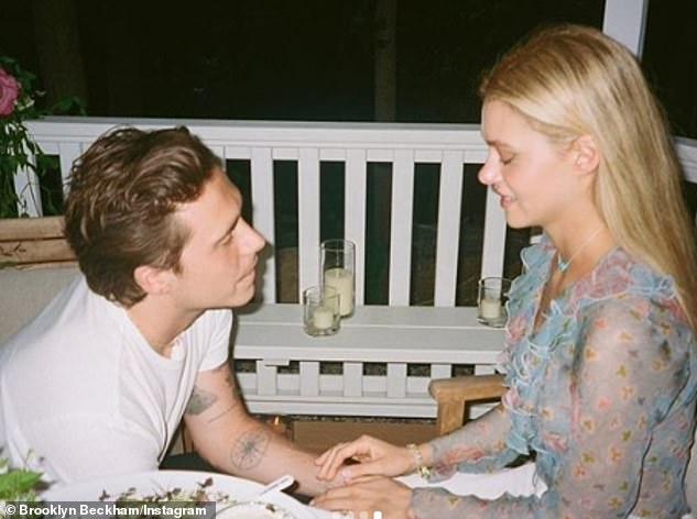 The moment: The 21-year-old got engaged to the American actress, 25, earlier this month, presenting her with a £350,000 engagement ring after a whirlwind romance