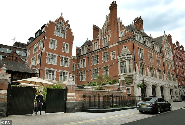 Balazs also owns Chiltern Firehouse in London which is notoriously exclusive
