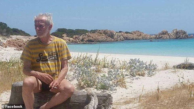 He has finally given up the fight will move into a small apartment on the nearby La Maddalena island