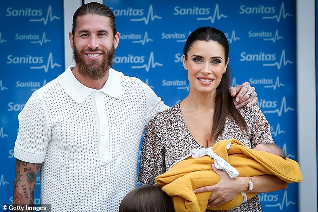 Announcement: Pilar confirmed her pregnancy on her Antena 3 TV show El Hormiguero back in January, following much speculation that she was expecting another child