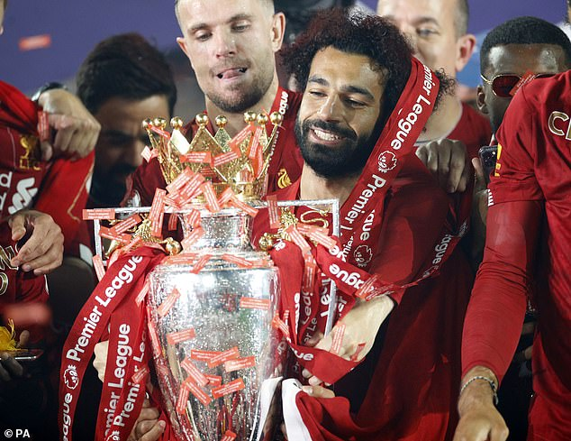 The Egyptian striker recently hinted he might leave Liverpool in the future