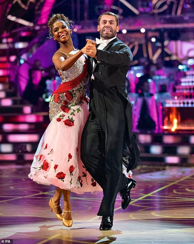 Questions: Strictly producers are still assessing contingency plans, and may film the new series without a live audience (pictured are last year's winnersKelvin Fletcher and Oti Mabuse)