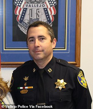 Whistleblower:Former Capt John Whitney, with the Vallejo Police Department, has alleged that some officers were in a 'Badge of Honor' fellowship that glorified the killing of civilians