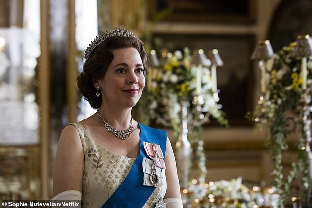 In the running: Olivia Colman take over the role of Queen Elizabeth II has been playing The Queen in recent series, but is set to be replaced by Imelda Staunton in the final two