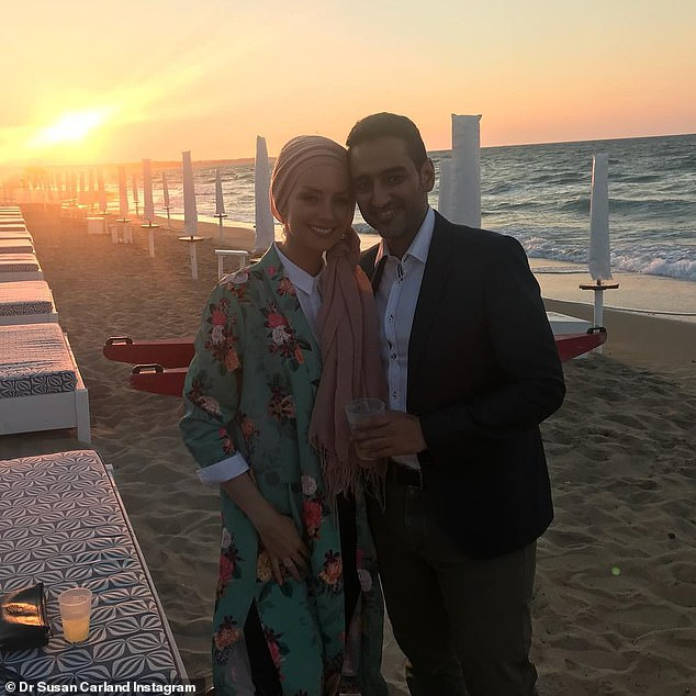 Awkward! Speaking at an RTi Talk, Susan said that when people in the Muslim community suggested they would make a good couple, she told them: 'I wouldn't marry him if he was the last man on earth.' Obviously she changed her mind