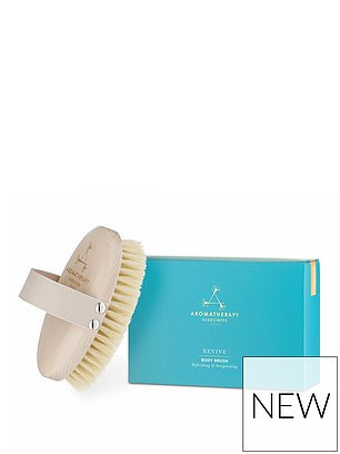 Aromatherapy Associates Polishing Body Brush (£25) at Very