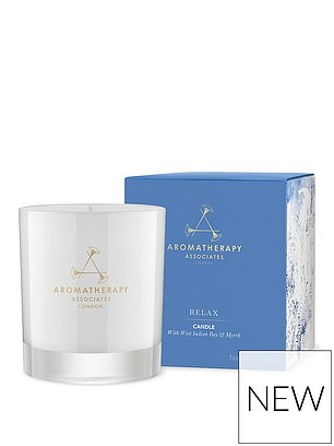 Aromatherapy Associates Relax Candle (£42) at Very