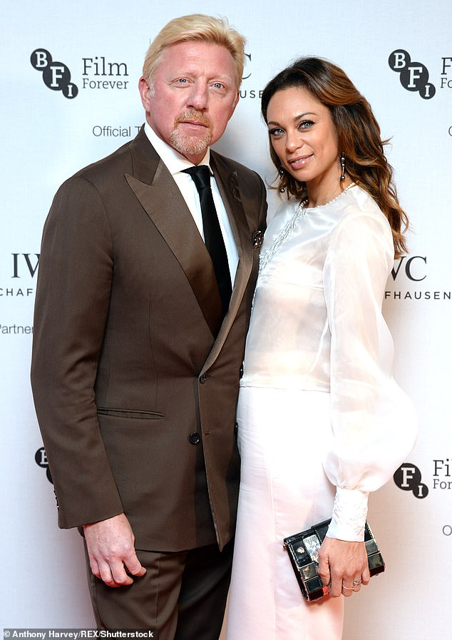 Parting ways: Boris split from model Lilly in 2018 after a 13-year relationship and nine years of marriage, and it is understood that they are in the 'final stages' of divorcing