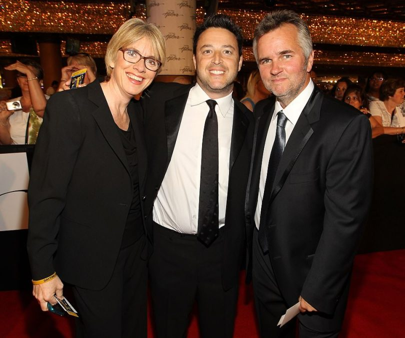 Executive Producers of the Ellen DeGeneres Show Mary Connelly (left), Andy Lassner (center), and Ed Glavin have been accused of fostering a hostile work environment.'If anyone had come to her or those three vile EPs [executive producers] to complain, they would've been fired,' a staffer said