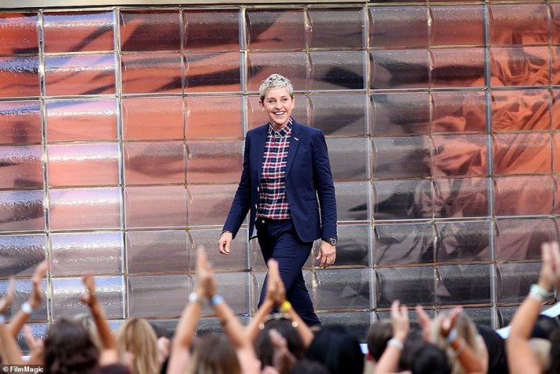 Now former staffers have accused Ellen of 'turning a blind eye' to rampant sexual misconduct by senior-level producers on her hit daytime TV talk show