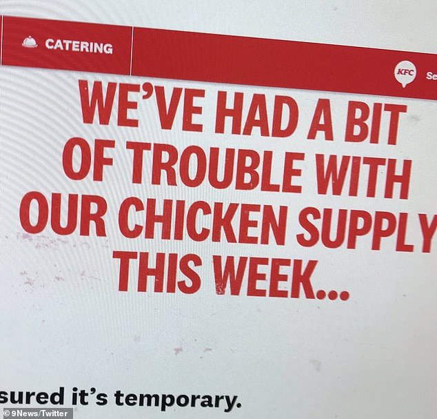 The KFC branch was forced to close for a deep clean, with customers receiving test and tracing messages from the NHS, but a company spokesperson said the restaurant was following all necessary guidelines.
