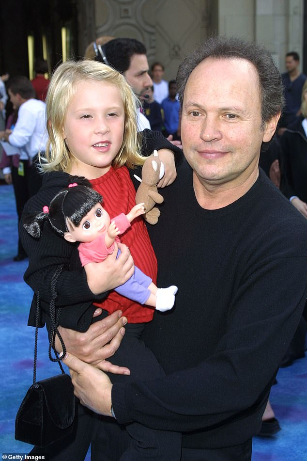 Twist of fate: Mary revealed it was actually a complete accident that she went on to star in the film alongside veteran actor Billy Crystal (pictured)