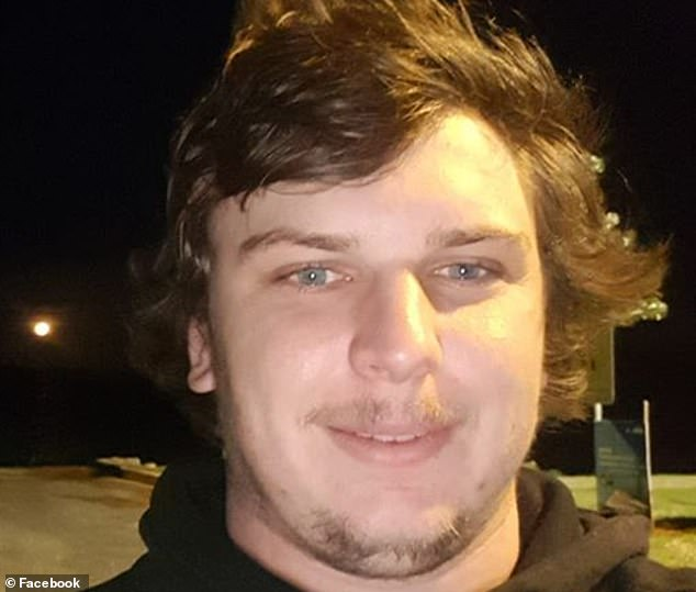 Harley Thompson (pictured), 26, has been arrested following the house fire atBombaderry