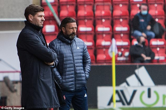 A lack of creativity up front made the afternoon difficult for Derek McInnes and Aberdeen