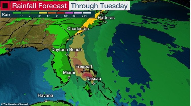 Hurricane Isaias is expected to bring heavy rain as well as storm surges as it moves north from South Florida