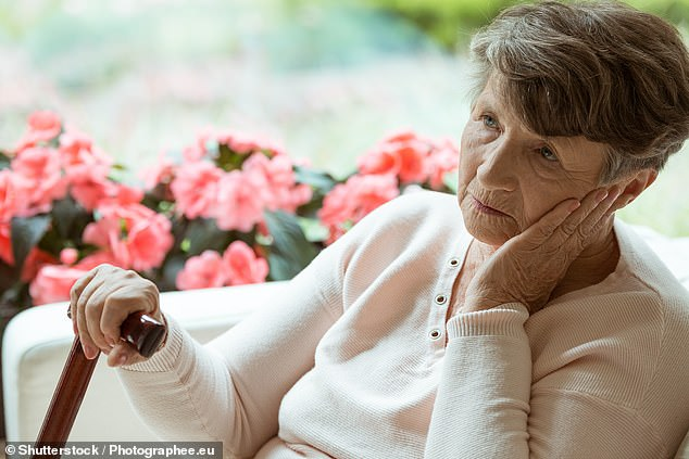 Scientists are still trying to work out precisely how hearing loss affects the brain and contributes to dementia. Some argue it is a sign of general 'neurological frailty' (file photo)