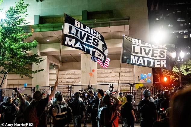 A report from the Washington Post said the Intelligence and Analysis Office had compiled reports on electronic messages shared by protesters in Portland, Oregon