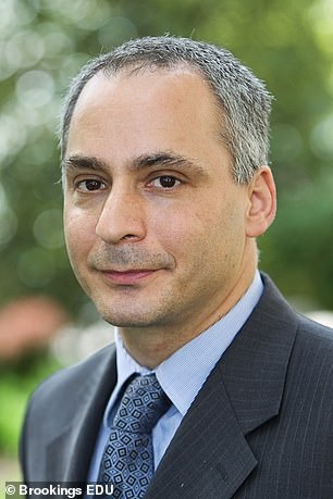 Pictured:Benjamin Wittes, a senior fellow at the Brookings Institution and editor-in-chief of the blog Lawfare.