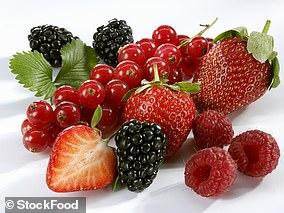 Do you eat berries twice a week?