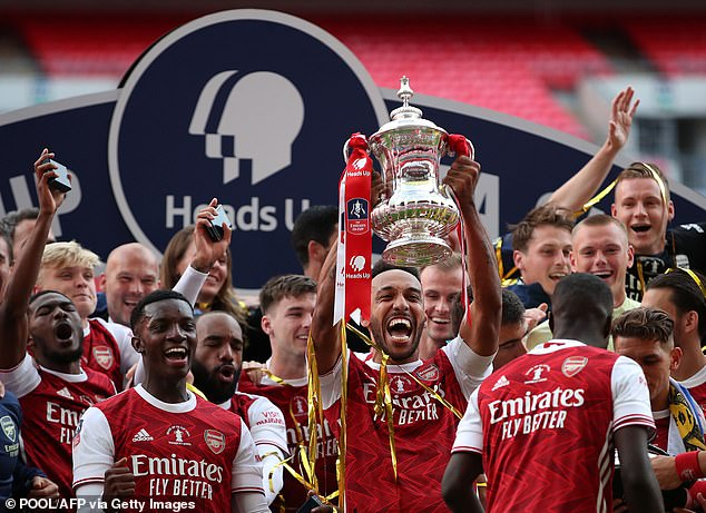 The Gunners qualified for the Europa League with their win over Chelsea at Wembley