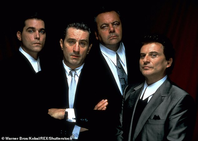 Classic: Pileggi received a Oscar nomination for Best Adapted Screenplay for Goodfellas