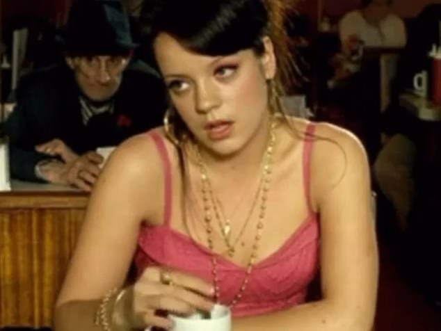 TALK OF THE TOWN: Lily Allen moans about not being paid enough for her 2006 hit Smile