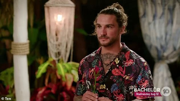 Hopeful: He is now hoping for a second chance at finding love, appearing on spin-off series, Bachelor In Paradise alongside the likes of Kiki Morris and Brittany Hockley