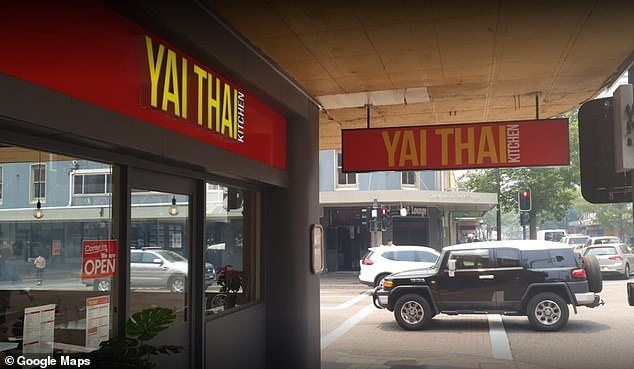 Venues that will be fined include Mapo Galbi Korean BBQ and Yai Thai in Gosford (pictured)