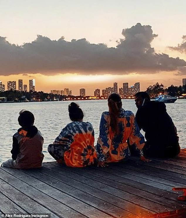 Living in the Hamptons:Lopez and Rodriguez have been documenting their time in the Hamptons with their blended family on Instagram