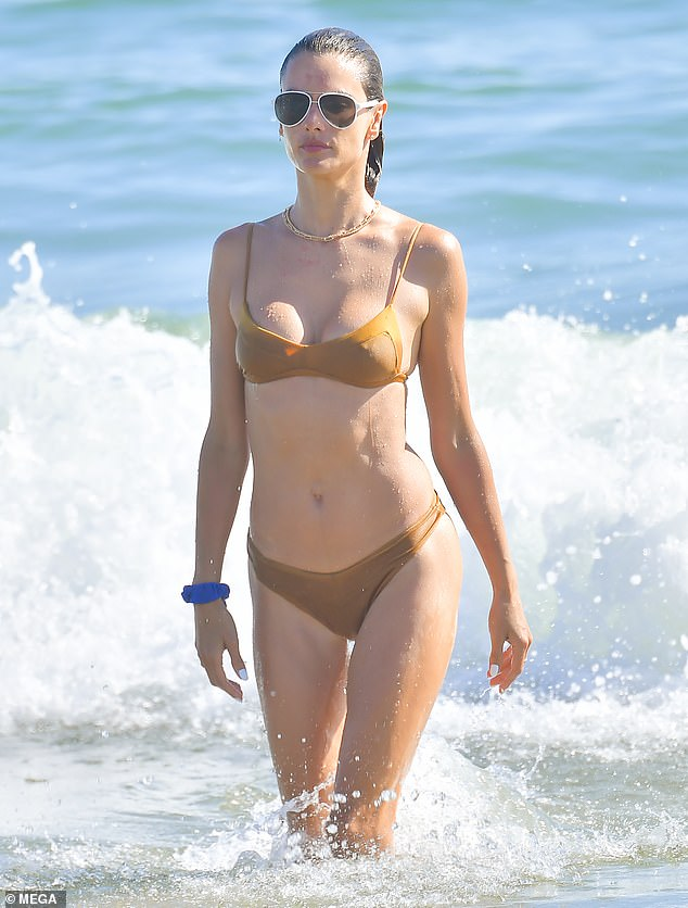 Steal her style:The bathing suit - which is referred to as the Bikini Yantra Set - retails for $200