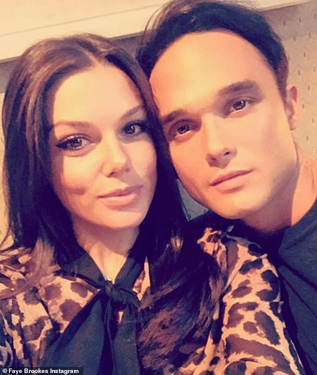 Happier times:She split with Gareth Gates last summer after seven years together