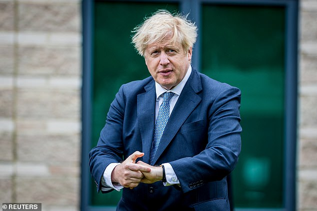 It comes as it has today been reported that millions of overs 50s could be given orders to stay at home as part of Boris Johnson's 'nuclear plans' to avoid another national lockdown