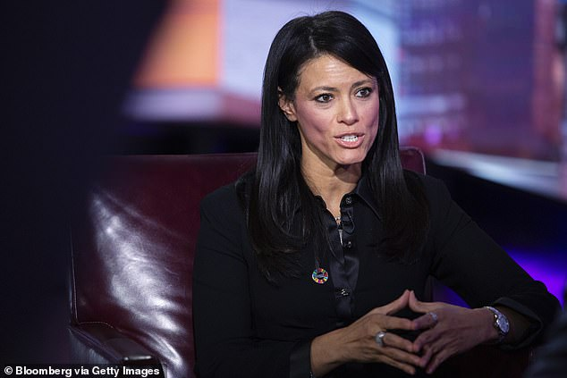Musk's claimprompted a response from Egypt's Minister of International Cooperation Rania al-Mashat, pictured during an interview with Bloomberg Television