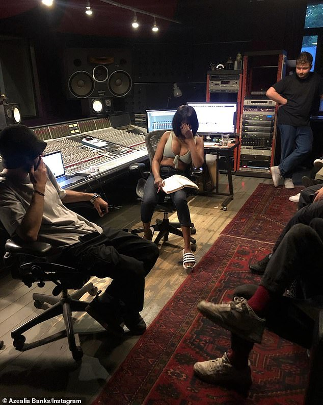 Still dropping this year? Banks has been recording her second studio album, Business & Pleasure, as far back as April 2015 (pictured in 2019)
