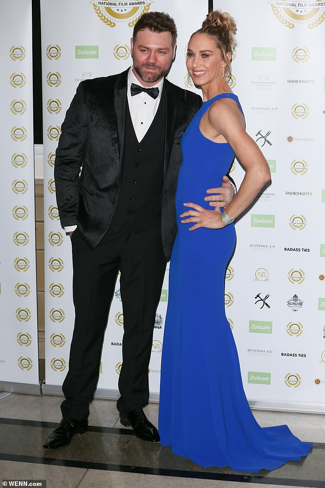 Brian McFadden and fiancée Danielle Parkinson expecting 'miracle' baby