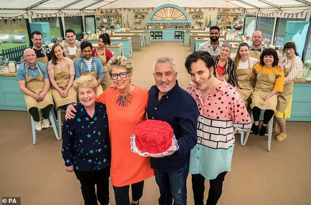 Delicious:For the first time in the awards history, The Great British Bake Off was awarded Best Talent Show, beating out Britain's Got Talent, Dancing On Ice and Strictly Come Dancing