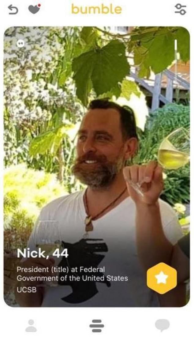 Is it real?A Bumble dating profile with Nick's name and photo has been circulating online, but it's unclearif the profile is genuine or fabricated by someone pretending to be the TV farmer
