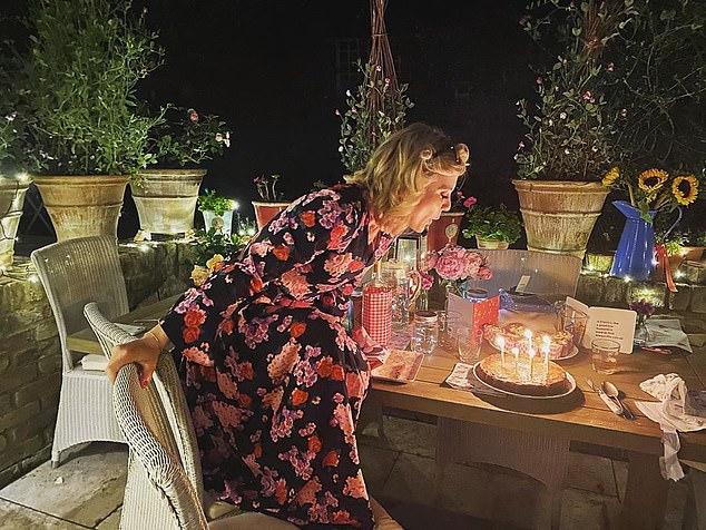 Silent Witness star Emilia Fox got a surprise birthday party