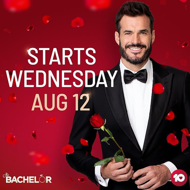 Coming soon:The Bachelor premieres on Wednesday August 12 from 7:30pm on Channel 10