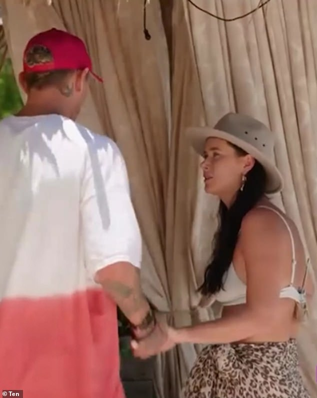 Mystery:Brittany and Timm left Paradise on Monday night's episode, choosing to vanish without saying goodbye to anyone