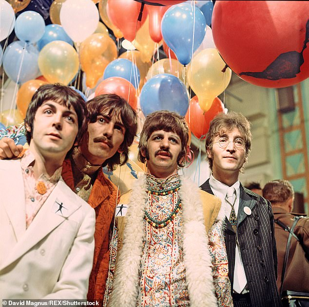 Struggle: Sir Paul recently revealed he found it 'pretty hurtful' when he was blamed for breaking up The Beatles when the group parted ways in 1970 (pictured in 1967)