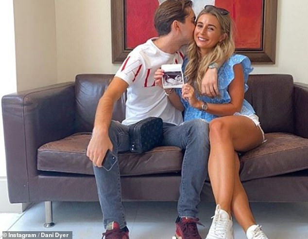 Sweet:Dani made the shock announcement on Instagram in late July, just three months after she rekindled her relationship with Sammy