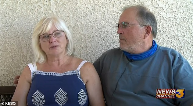 Lloyd's parents - Wayne and Ruth - were holding out hope that their daughter was still alive
